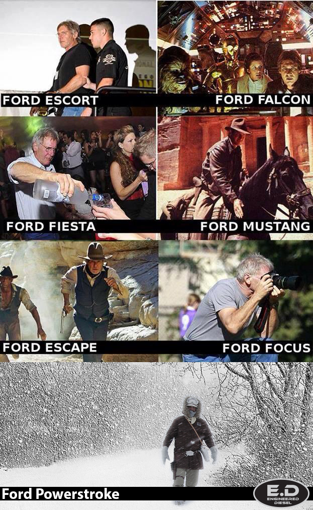 Harrison Ford Powerstroke