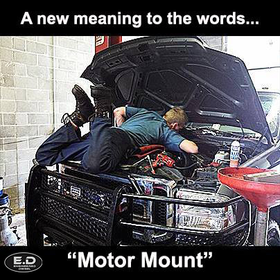 Engineered Diesel meme Motor Mount