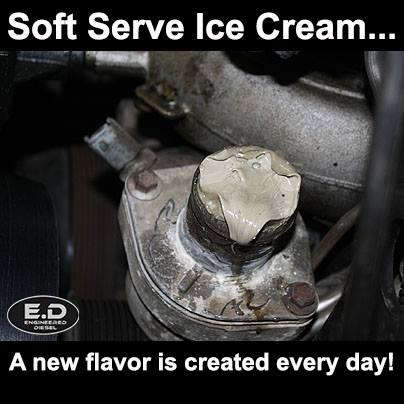 Engineered Diesel Meme Soft Serve!