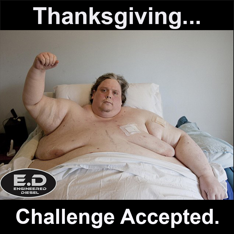 Thanksgiving Challenge Accepted!