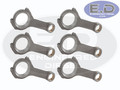 Connecting Rods - Carrillo Pro-H WMC - Cummins 5.9L & 6.7L - 1989 - 2012 - SET OF 6