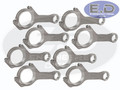 Connecting Rods - Carrillo Pro-H WMC - Powerstroke 6.4L - 2008 - 2010 - SET OF 8