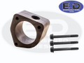 Thermostat Spacer for Coolant Bypass - E.D Billet Black Anodized - 24v Cummins 5.9L & 6.7L 1998.5 - Present