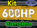 600 hp Complete Kit - Engineered Diesel - Cummins 5.9L 2003 - 2007