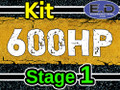 600 hp Stage 1 Kit - Engineered Diesel - Cummins 5.9L 2003 - 2007