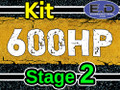 600 hp Stage 2 Kit - Engineered Diesel - Cummins 5.9L 2003 - 2007