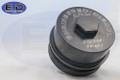 Fuel Filter Cap - E.D. Billet - For filter FD-4617 Powerstroke 6.4L 2008 - 2010