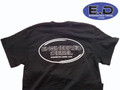 Engineered Diesel T-Shirt  -Small Turbo on Black