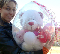 teddy bear 2 18 inch qualatex stuffing balloon stuffed balloon