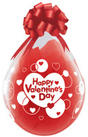 "Qualatex 18"" Stuffing Balloon, Happy Valentines Day"