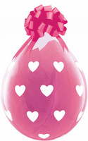 "Qualatex 18"" Stuffing Balloon, BIG HEARTS"