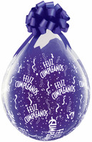 "Qualatex 18"" Stuffing Balloon, Feliz Cumpieanos Alrededor  38144"