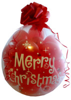 MERRY CHRISTMAS Qualatex 18 inch Stuffing balloon