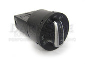 Polo 6R Headlight Switch with Brushed Alloy Trim