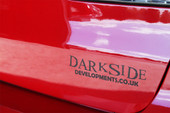 Darkside Developments Simple Matt Black Stickers