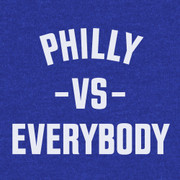 Philly Vs Everybody (Heather Blue)
