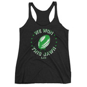 We Won This Jawn Ladies' Racerback Tank