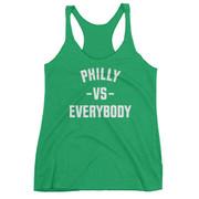Philly Vs Everybody Racerback Tank (Kelly)