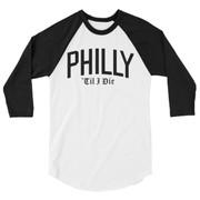 Philly 'Til I Die Unisex Raglan