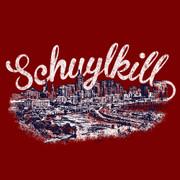 Schuylkill Script Maroon
