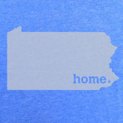 Home Heather Blue Tee