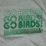 Go Birds! Grey