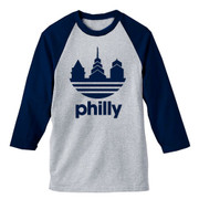 Das Philly Unisex Raglan (Navy)