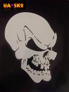 Skull Airbrush Stencil 2
