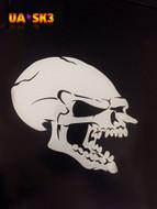 Skull Airbrush Stencil 3
