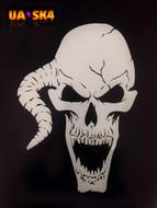 Skull Airbrush Stencil 4