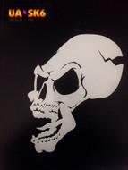 Skull Airbrush Stencil 6