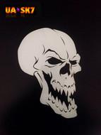 Skull Airbrush Stencil 7