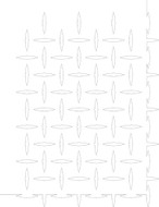 Diamond Plate Airbrush Stencil