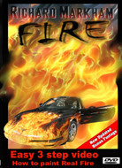 Real fire instructional Airbrush DVD