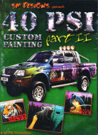 40 PSI Custom Painting Part II Auto Air with Simon Murray DVD