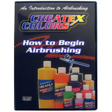 Createx Colors How to Begin Airbrushing