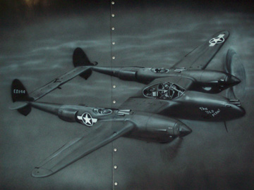Airbrush Art from Ed Gross