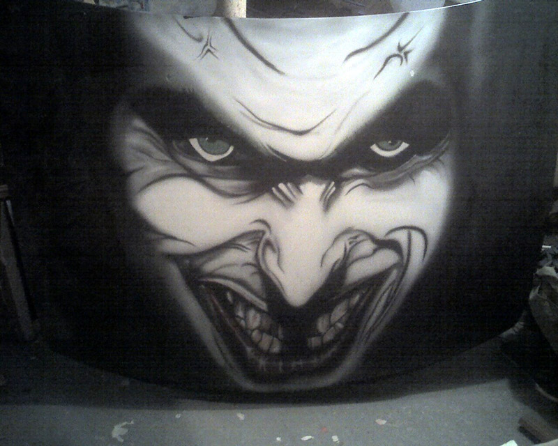 Airbrush Art from Martin Burgos