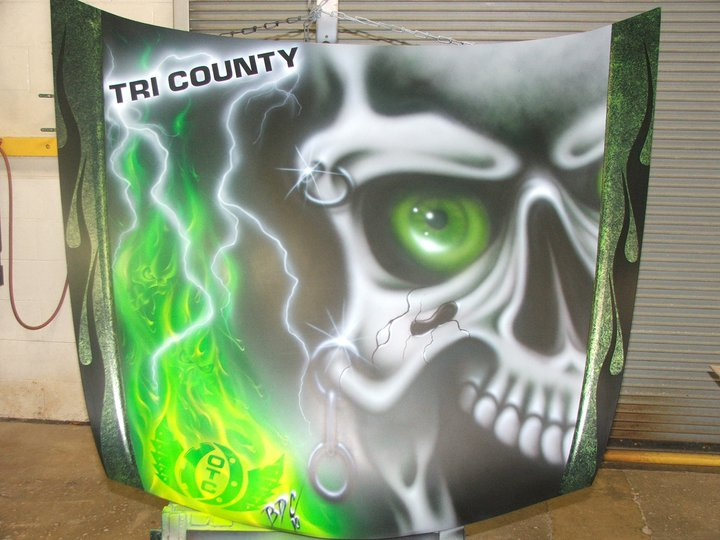 Airbrush Art from Thomas Banks