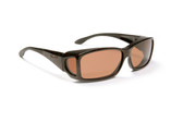 Haven Designer Fitover Sunglasses Windemere in Tortoise & Polarized Amber Lens (MEDIUM/LARGE)