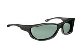 Haven Designer Fitover Sunglasses Foxen in Black & Polarized Grey Lens (MEDIUM/LARGE)