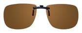 Montana Eyewear Clip-On Sunglasses C2B in Polarized Amber 54mm