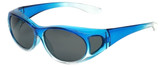 Calabria P2866POL-2T Polarized FitOver Sunglasses Medium Size
