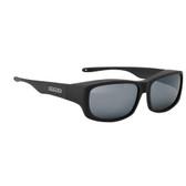 Jonathan Paul® Fitovers Eyewear Large Pandera in Matte Black & Gray PD001