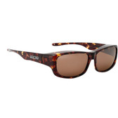 Jonathan Paul® Fitovers Eyewear Large Pandera in Shiny Tortoise & Amber PD002A
