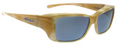 Jonathan Paul® Fitovers Eyewear Small Nowie in Ivory-Tusk & Gray NW003