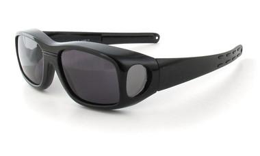 Gloss Black & Gray Lens