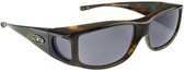 Jonathan Paul® Fitovers Eyewear Large Jett in Brown-Marble & Grey JT002