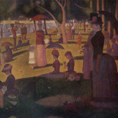 Famous Artwork Theme Cleaning Cloth 'A Sunday Afternoon on the Island of La Grande Jatte' by Seurat