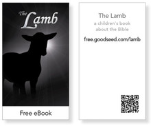 The Lamb eBook Cards (pack of 25)